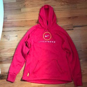 Nike Livestrong hoodie
